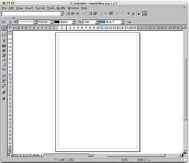 Using openoffice to write a book